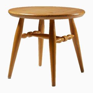 Modernist Birch Coffee Table by Erik Höglund, 1960s