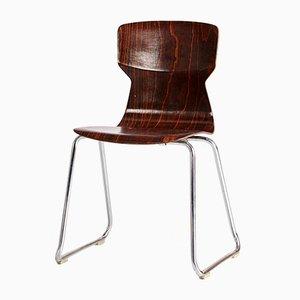 Stapelbarer Obo Formsitz Stuhl von Casala, 1970er