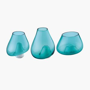 Vases Cumuli par Gumdesign pour La Casa di Pietra, Set de 3