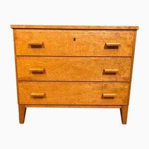 Mid-Century Scandinavian Modern Wooden Dresser, 1950s