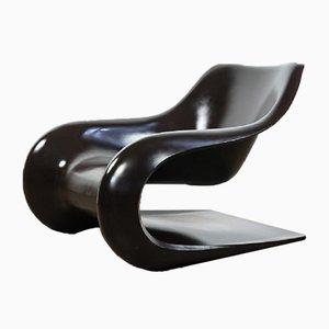 Deutscher Targa Sessel von Klaus Uredat für Horn Collection, 1970er
