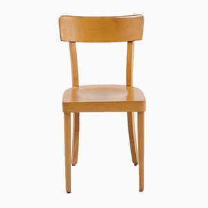 Vintage Beech Side Chair, 1970s