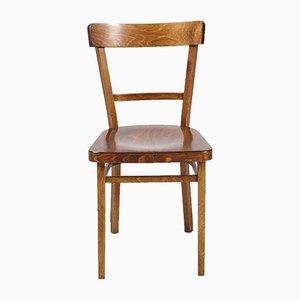 Vintage Beistellstuhl aus Eiche, 1970er