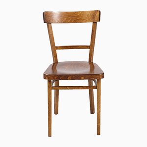 Vintage Oak Side Chair, 1970s