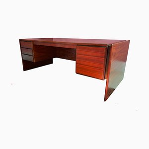 Danish Rosewood Desk by Svend Dyrlund, 1960s