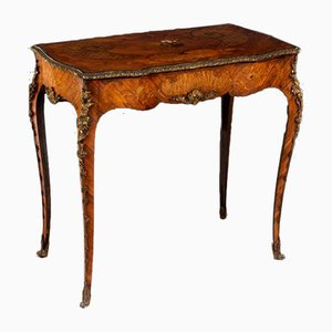 19th Century Tulipwood & Bronze Ormolu Mounted Side Table by Edward Holmes Baldock