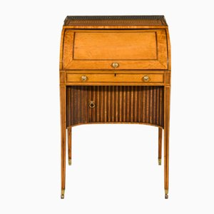 Antique George III Sheraton Period West Indian Secretaire
