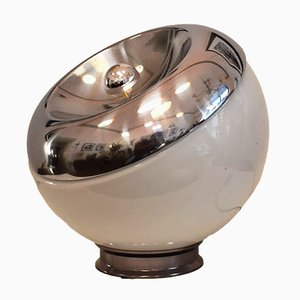 Space Age Chromed Aluminum Table Lamp, 1970s