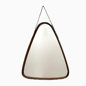 Mid-Century Italian Triangular Mirror, 1960s