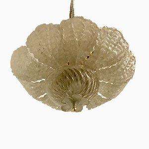 Italienische Einbaulampen aus Muranoglas, 1960er, 2er Set