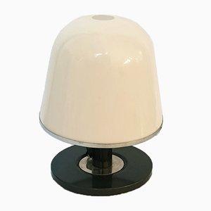 Lámpara de mesa italiana de cromo y metal de Franco Bresciani para Guzzini, años 70