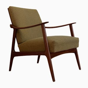 Teak Easy Chair by Frederik Kayser for Vatne Norway, 1960s
