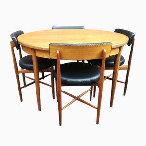 Table de Salle à Manger Vintage en Teck de G-Plan, 1972