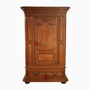 Antique French Louis XVIII Walnut Wardrobe