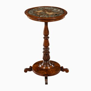 19th-Century William IV Circular Turtlestone Table from Gillows Of Lancaster & London