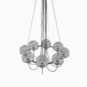Lámpara de araña Saturn de Raak, años 60