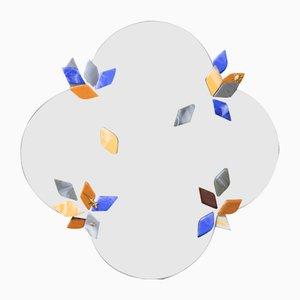 Flower Mirror by Serena Confalonieri for Vetrofuso di Daniela Poletti, 2019