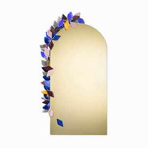 Miroir Arch par Serena Confalonieri pour Vetrofuso di Daniela Poletti, 2019
