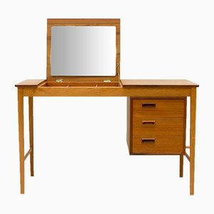 Danish Teak & Oak Dressing Table by Svend Åge Madsen, 1960s