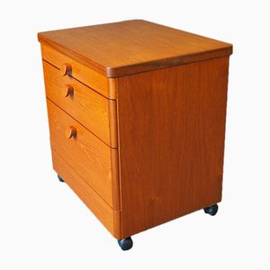 Mid-Century Teak Nightstands from Stag, 1960s, Set of 2