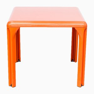 Italian Plastic Dining Table by Vico Magistretti for Artemide, 1969