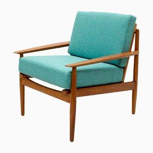 Dänischer Armlehnstuhl aus Teakholz von Arne Vodder für Glostrup, 1960er