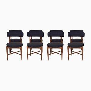 Chaises de Salle à Manger en Teck par Victor Wilkins pour G-Plan, 1960s, Set de 8
