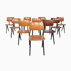 Chaises de Salle à Manger Modèle S16 de Galvanitas, 1960s, Set de 10