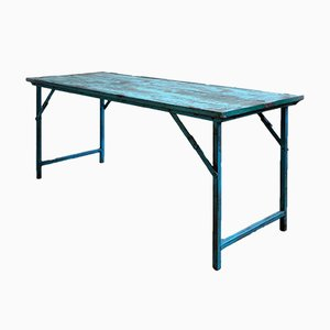 Table Pliante Industrielle, Inde, 1950s