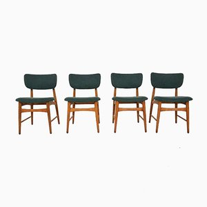 Dutch Oak Dining Chairs from Bovenkamp, 1960s, Set of 4