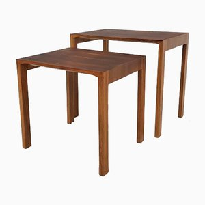 German Rosewood Nesting Tables by Rex Raab for Wilhelm Renz, 1960s