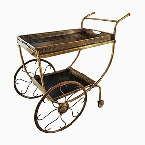 Mid-Century Brass Trolley by Josef Frank for Svenskt Tenn, 1958