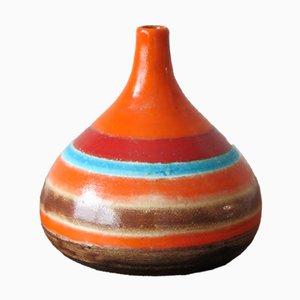 Italienische Mid-Century Keramikvase von Bruno Gambone, 1960er