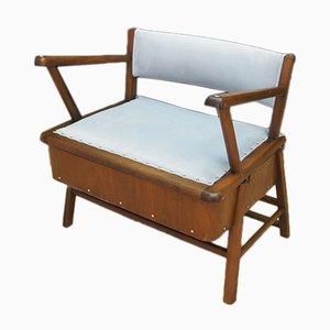 Dänischer Mid-Century Armlehnstuhl aus Teakholz von Frede Andersen für EFA, 1960er