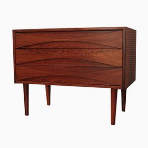Danish Rosewood Chest of Drawers by Clausen for N.C Mobler, 1960s