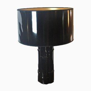 Lámpara de mesa italiana de cerámica de Loffredo Ferdinando, años 70
