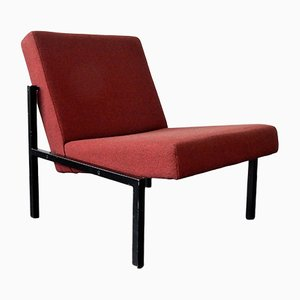 SZ11 Fabric and Metal Lounge Chair by Martin Visser for 't Spectrum, 1960s