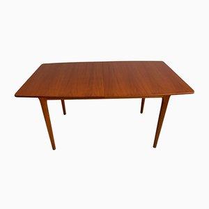 Mesa de comedor Mid-Century de teca de McIntosh, años 60