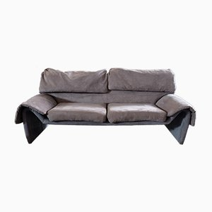 DS 2011-12 Grey Sofa from de Sede, 1970s