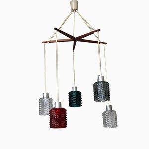 Danish Ceiling Lamp, 1950s
