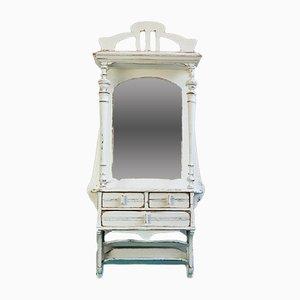 Mueble de pared francés modernista pequeño de roble, años 10