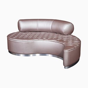 Chaise longue Marilen in ecopelle di VGnewtrend