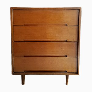 Oak Veneer C Range Chest of Drawers by John & Sylvia Reid for Stag, 1950s