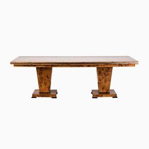 Table de Salle à Manger Style Art Déco en Érable par Restall Brown & Clenell pour Restall Brown & Clenell, 1980s
