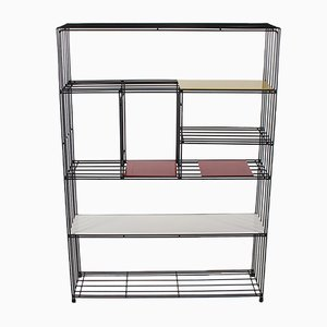 Steel Shelving Unit by Tjerk Reijenga for Pilastro, 1960s