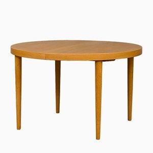 Danish Oak Extendable Dining Table by Kai Kristiansen, 1960s