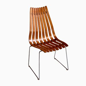 Teak Dining Chairs by Hans Brattrud for Hove Møbler, 1960s, Set of 8