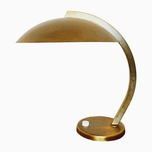 Deutsche Mid-Century Tischlampe aus Messing von Hillebrand, 1960er