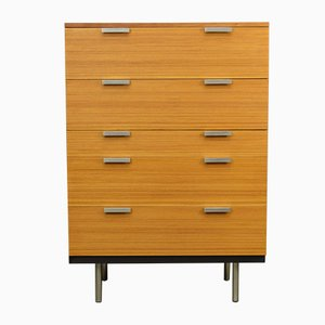 Teak Tallboy Drawers by John and Sylvia Reid for Stag, 1960s
