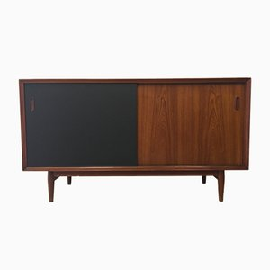 Danish Oak and Teak OS11 Sideboard by Arne Vodder for Sibast, 1950s